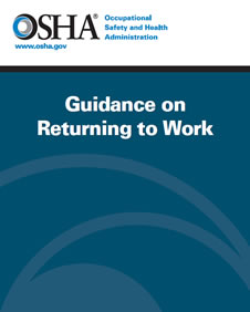 Guidance on Returning to Work